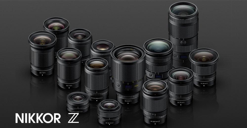 Nikon DSLR kameraer NIKKOR objektiver COOLPIX