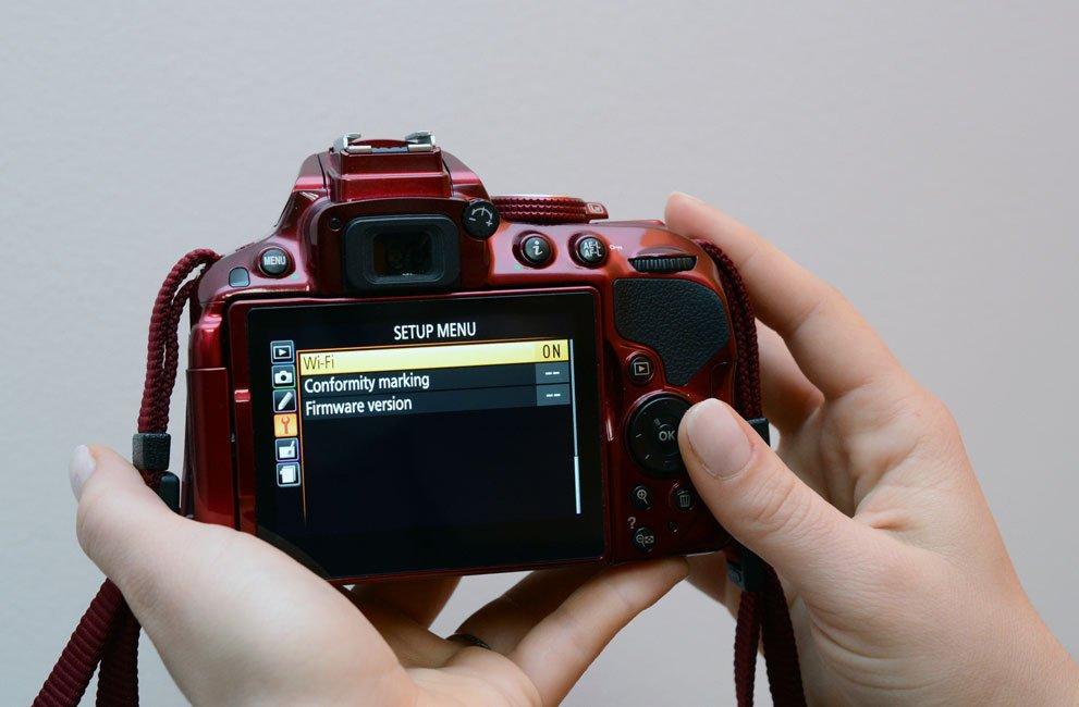 Ansluta Nikon till Mac