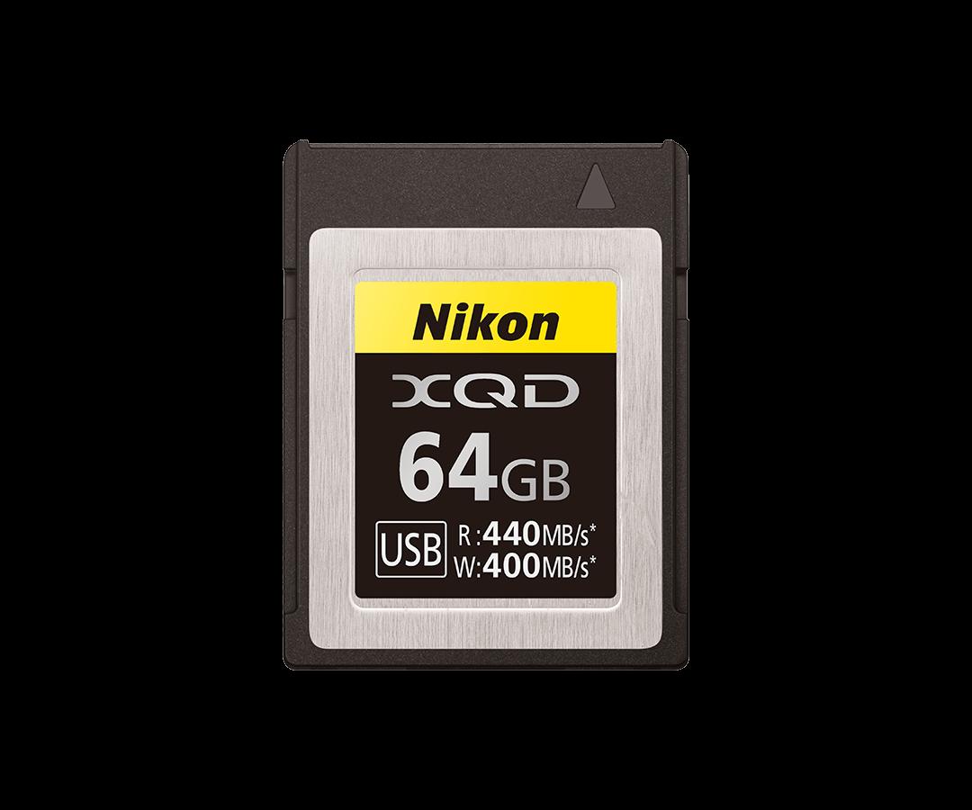 Карта памяти XQD емкостью 64ГБ от Nikon