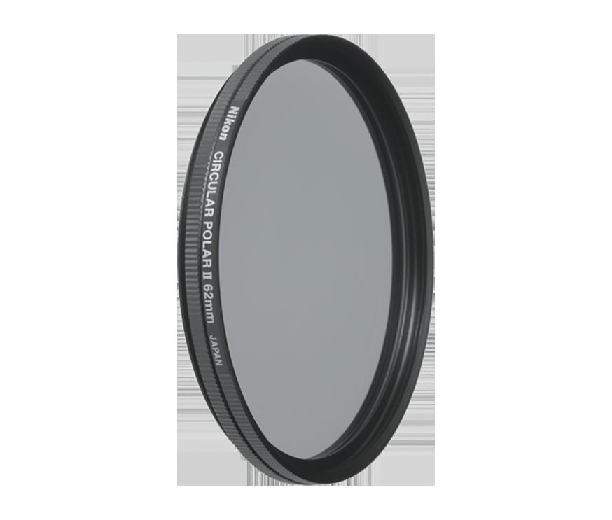 Circulair polarisatiefilter II van 62mm