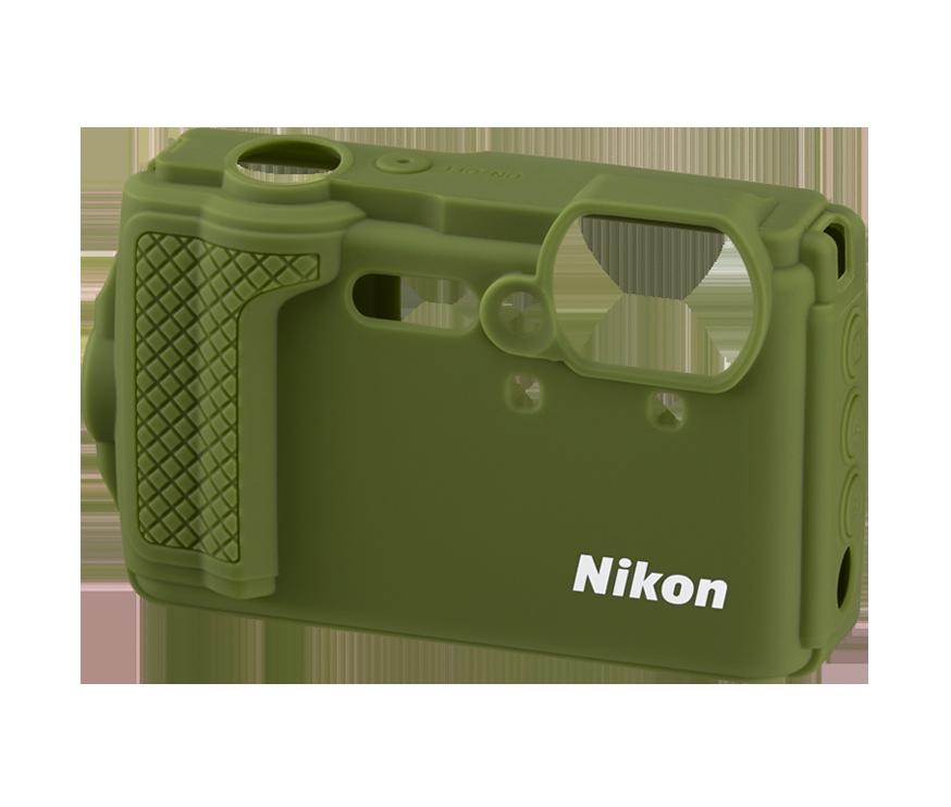 W300 Silikonfodral, grönt