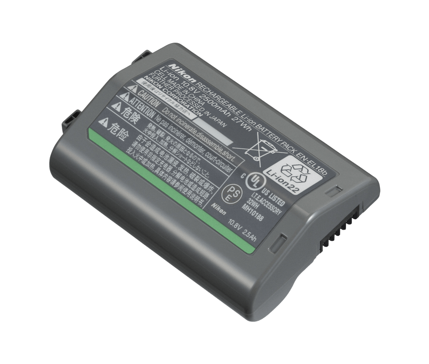 RECHARGEABLE LI-ION BATTERY EN-EL18B