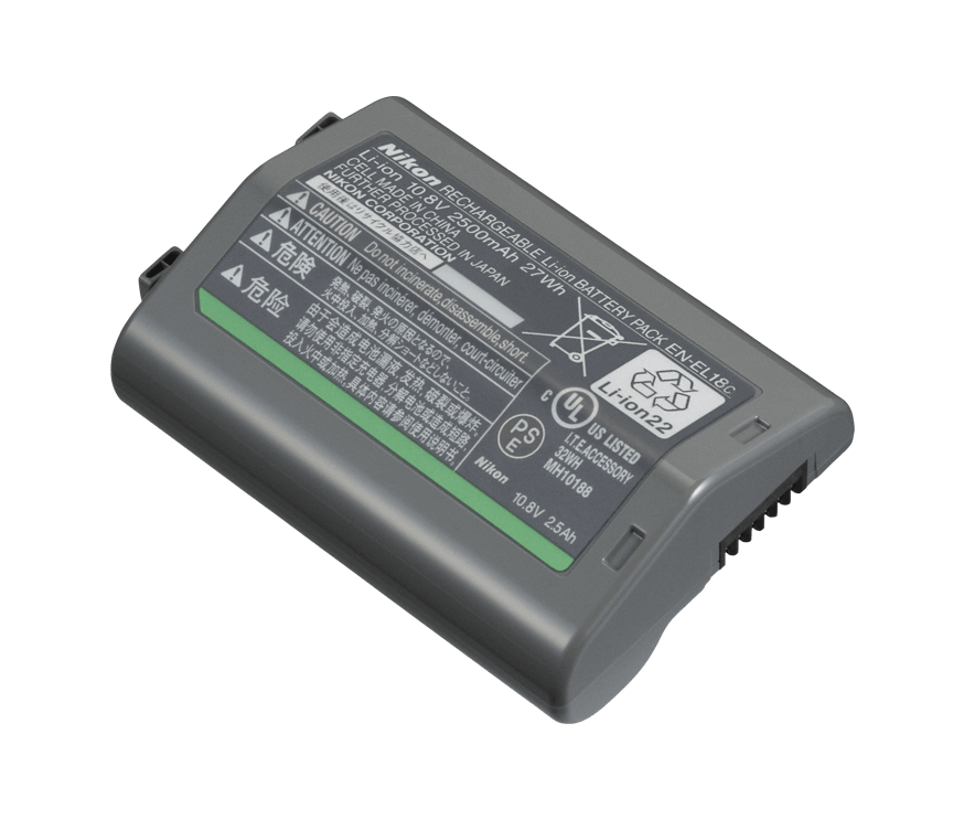 RECHARGEABLE LI-ION BATTERY EN-EL18c