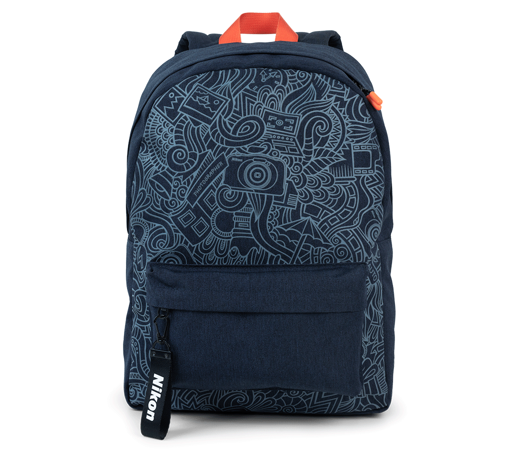 Street Blue Backpack
