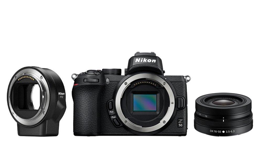 Z50 + NIKKOR Z DX 16–50 mm f/3,5–6,3 VR + FTZ adaptér