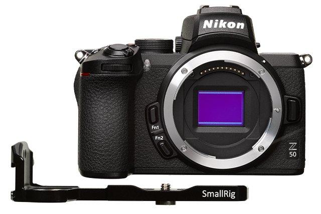 z_50_vlogger_kit_smallrig_mounting_plate