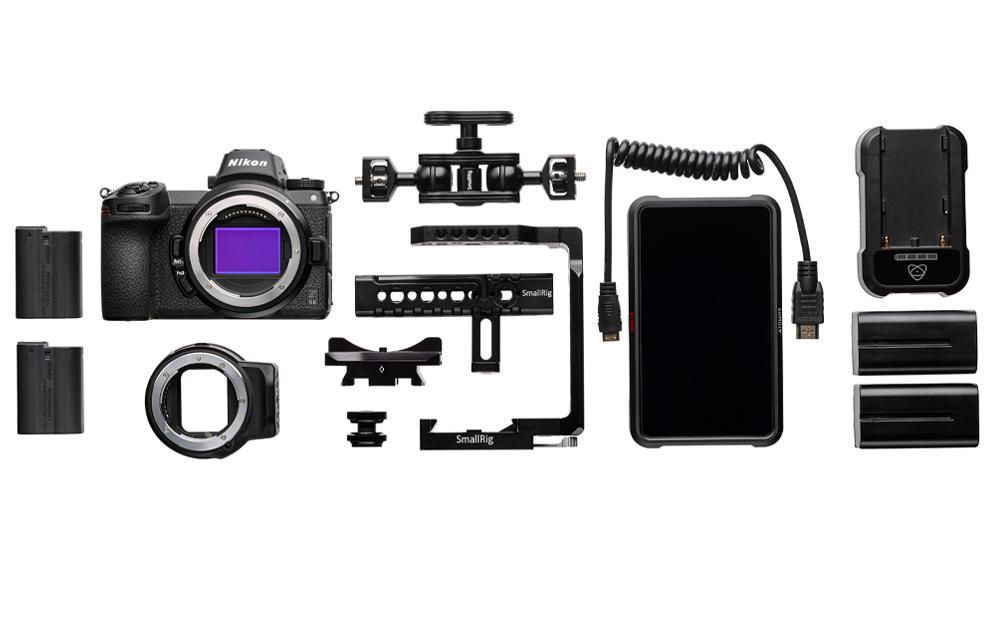 Pokročilásúprava Nikon Z 6II pre video