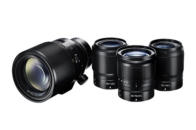 Bright lenses in the Z Mount range