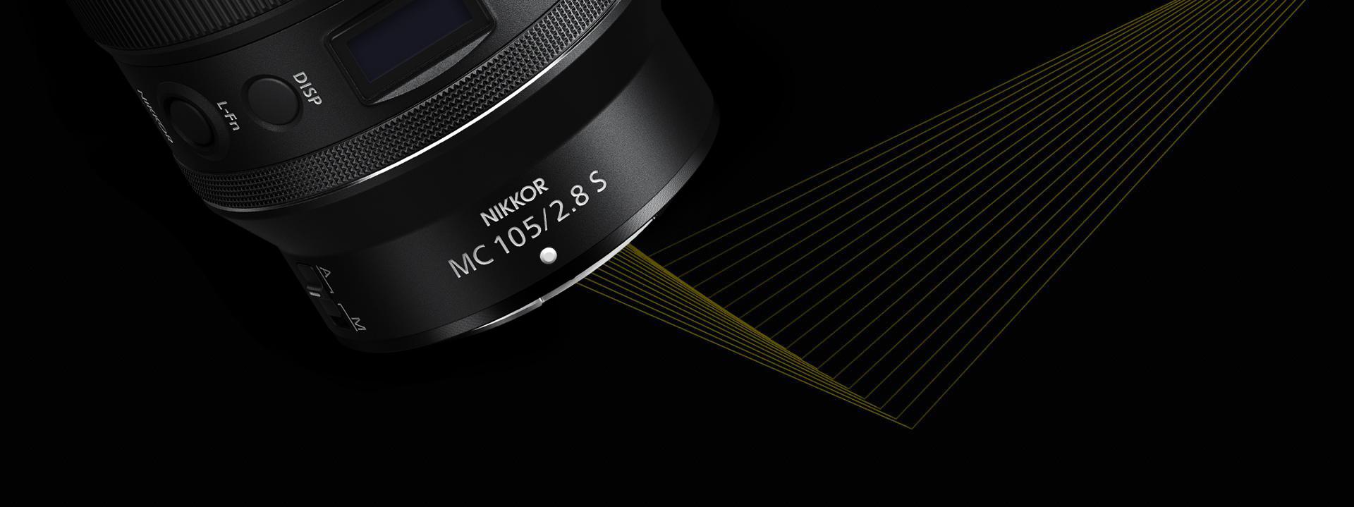 Nikon Nikkor Z MC 105mm F2.8 VR S objektív