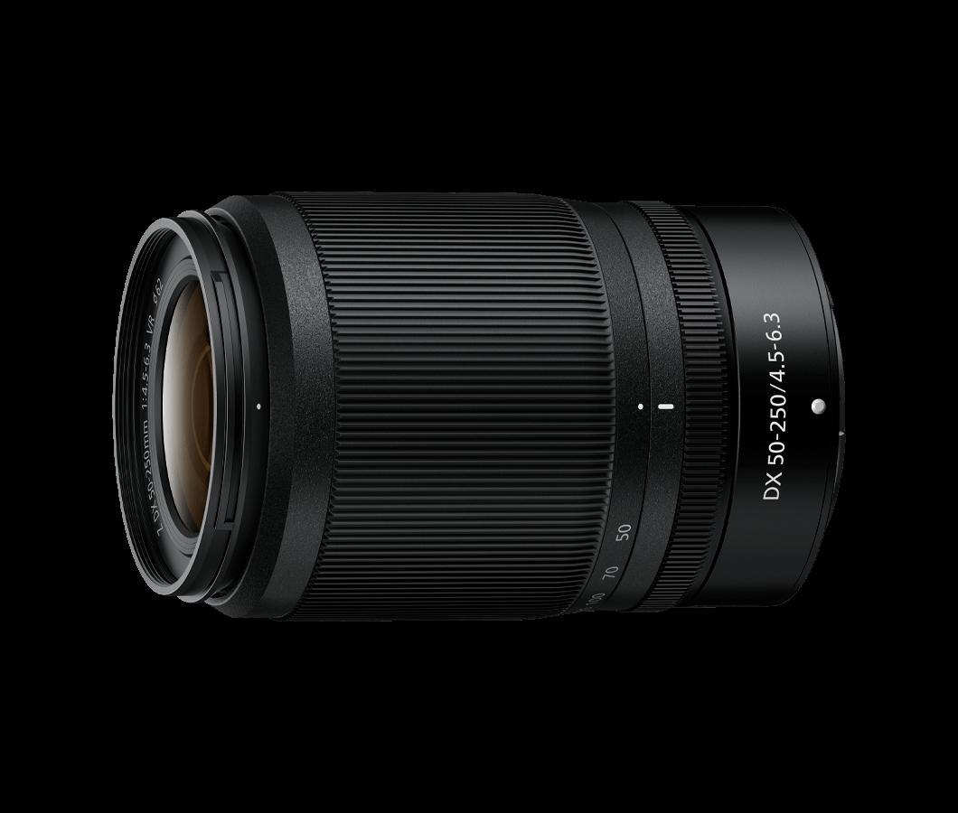NIKKOR Z DX 50 – 250 mm f/4,5 – 6,3 VR