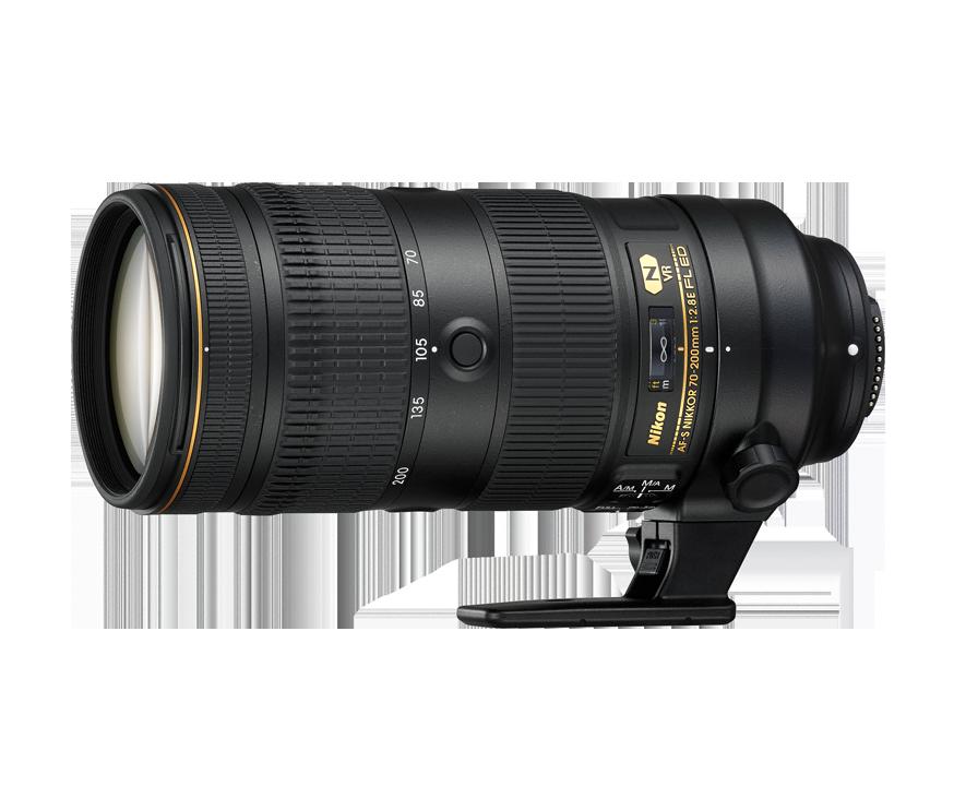AF-S NIKKOR 70–200 mm f/2,8E FL ED VR