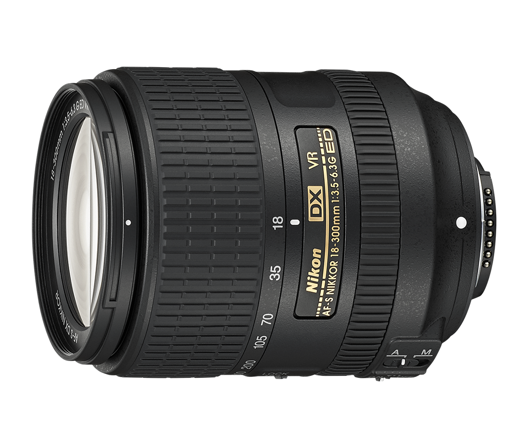 AF-S DX NIKKOR 18-300 mm f/3.5-6.3G ED VR