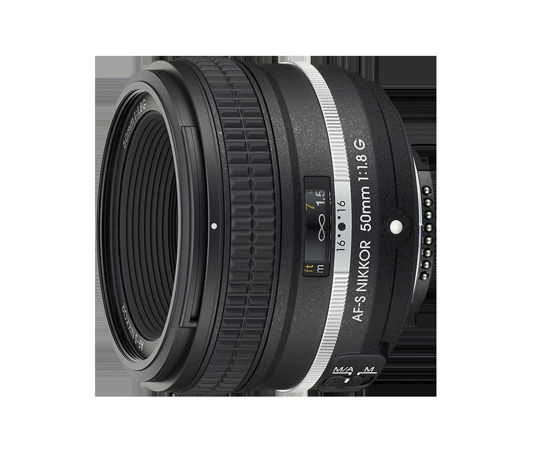 AF-S 50mm f/1.8 NIKKOR