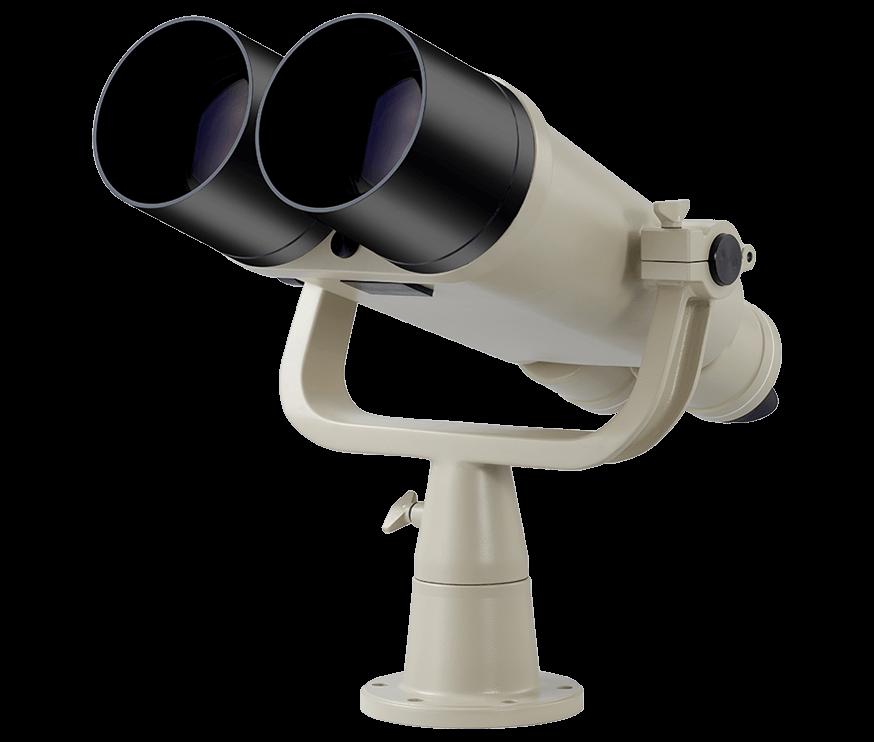 Telescópio binocular 20x120IV