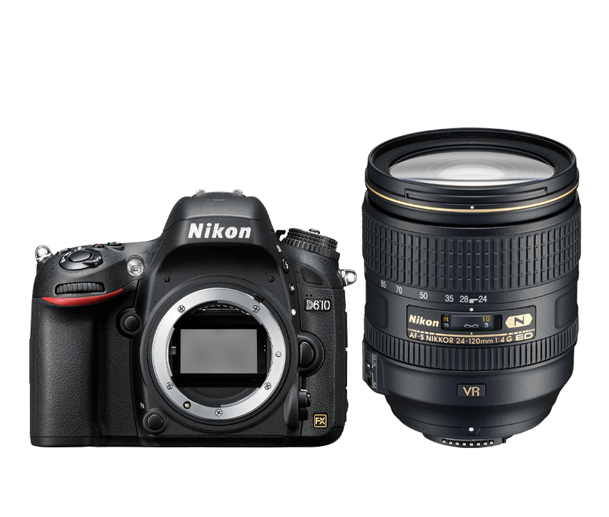 D610 + AF-S 24–120 mm VR