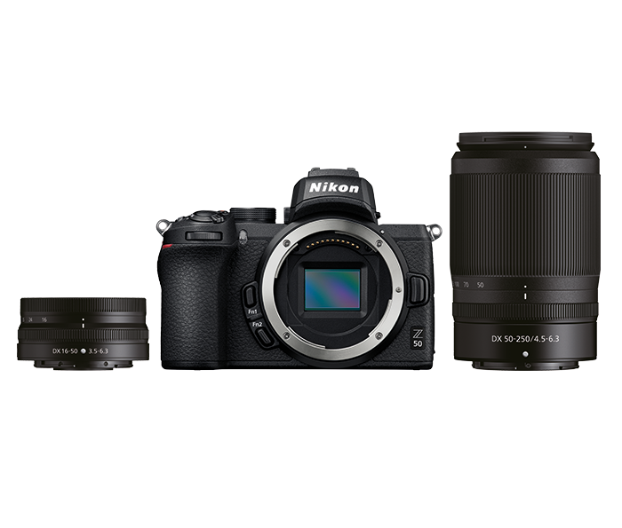 Z50 + 16-50 VR + 50-250 VR-kit