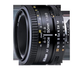 AF Nikkor 50mm f/1.8D