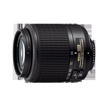 55-200mm f/4-5.6G ED AF-S DX NIKKOR (Black)