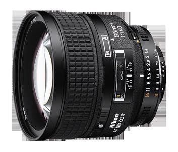 85mm f/1.4D AF NIKKOR