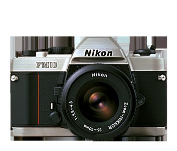 Film SLR Camera FM10 w/35-70MMF3.5-4.5