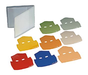 Conjunto de filtros de cor SJ-1
