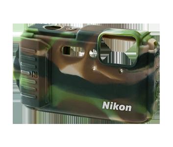 AW130 Silikonevest camouflage