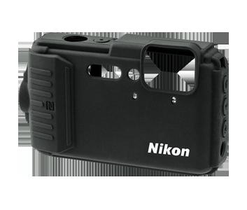 Silikonowa osłona na aparat AW130 - czarna