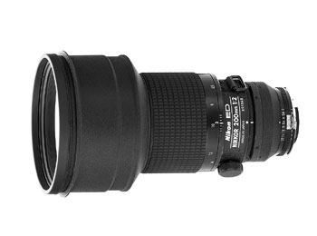 200mm f/2 Nikkor