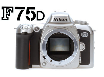 Film SLR Camera F75D black