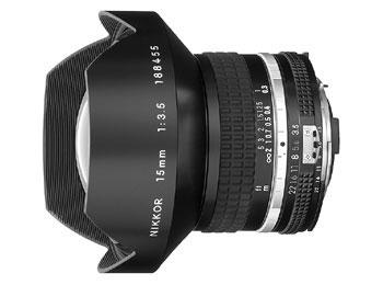 15mm f/3.5 Nikkor
