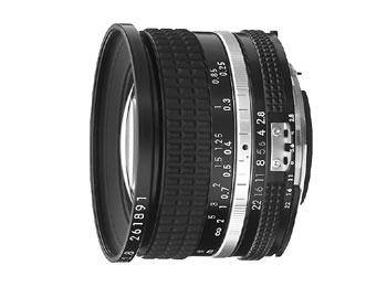 20mm f/2.8 Nikkor