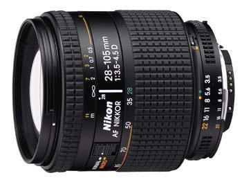 28-105 mm f/3,5-4,5D AF Zoom-Nikkor