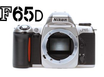 Film SLR Camera F65D Black