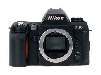 Film SLR Camera F80 black