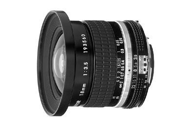 18mm f/3.5 Nikkor