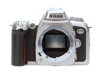 Film SLR Camera F75 black