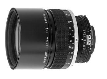 135mm f/2 Nikkor