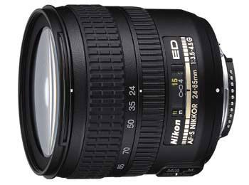 24-85mm f/3.5-4.5G ED-IF AF-S Zoom-Nikkor